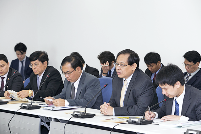 Invited delegation to visit Japan for Myanmar industrial human resources development symposium
