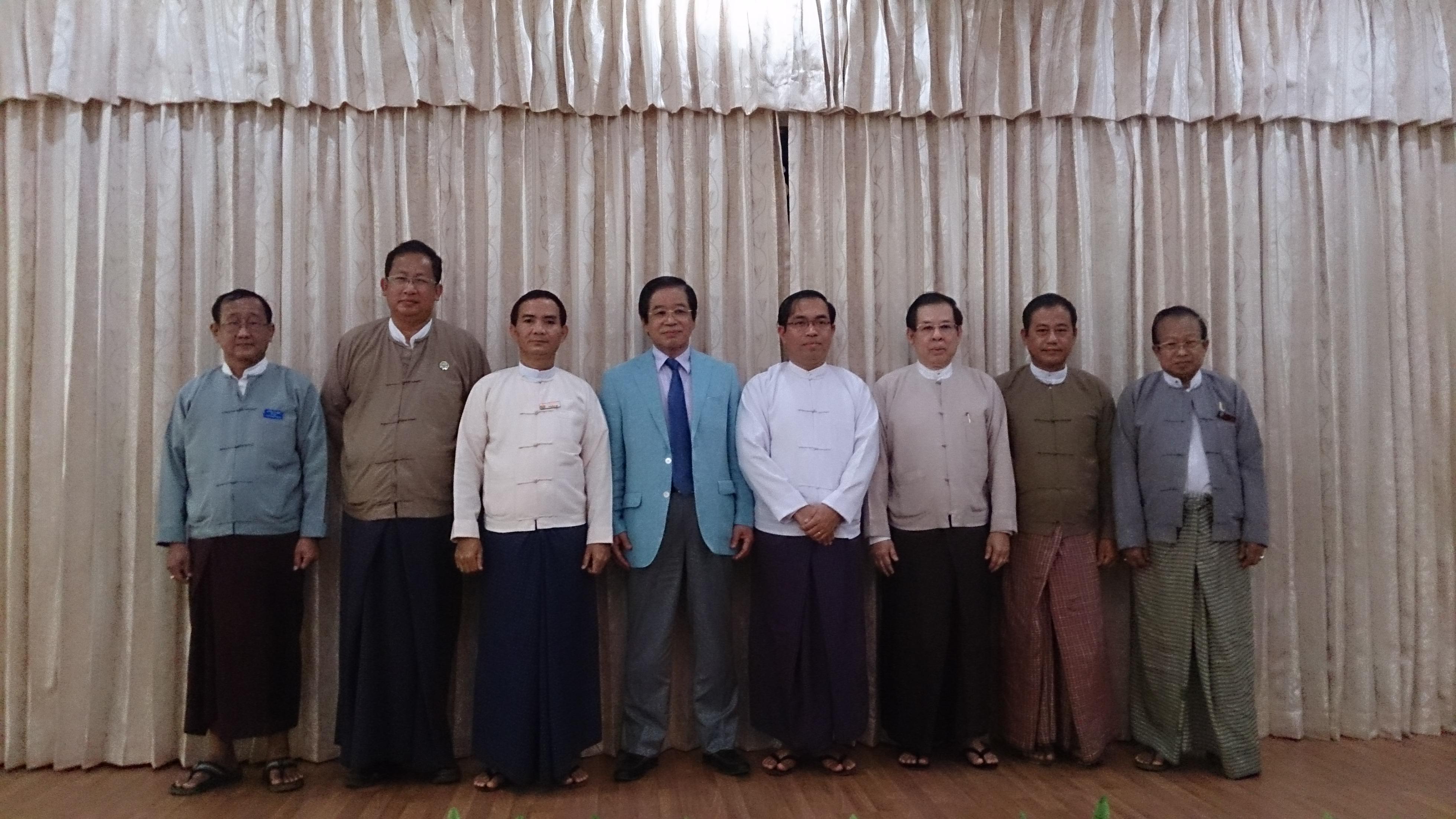 日本ミャンマー職業訓練学校 ステアリングコミッティ