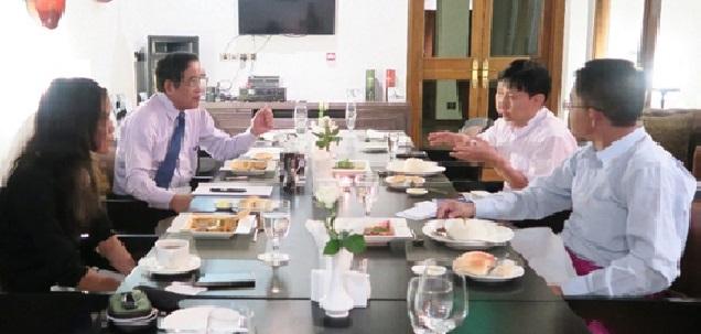 ミャンマー日本友好国会議員連盟 幹事長 Zaw Min Latt