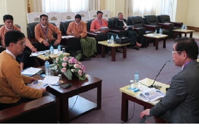 ミャンマー日本友好国会議員連盟会長と委員