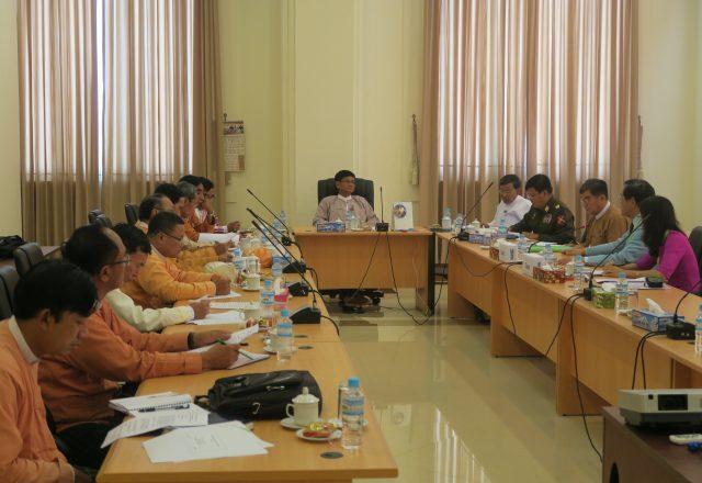 ミャンマー教育開発委員会との意見交換